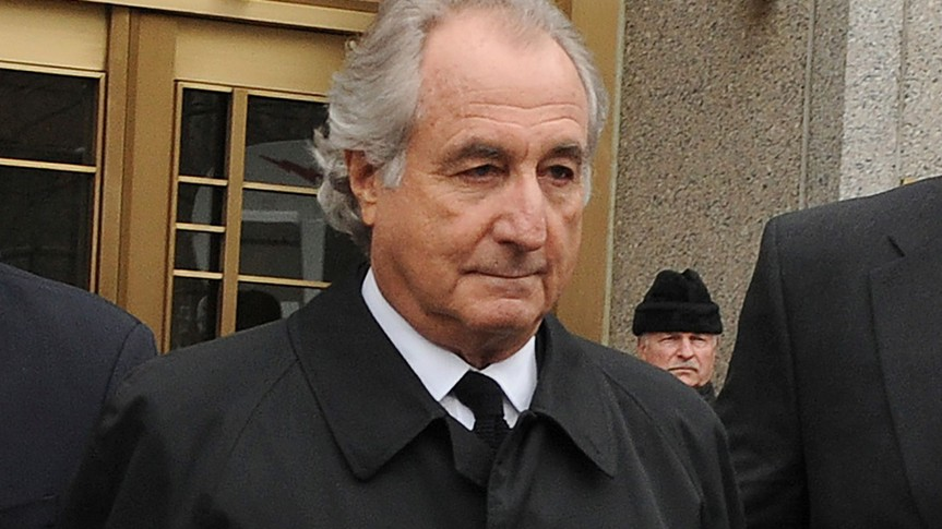 Mandatory Credit: Photo by Louis Lanzano/AP/Shutterstock (11857865a)Bernard Madoff exits Manhattan federal court, in New York.