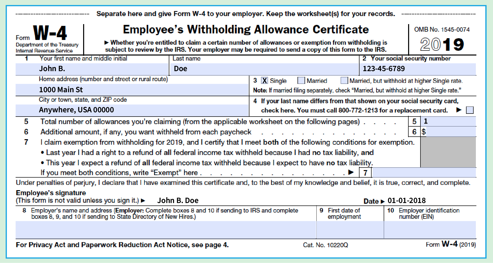 w4 form template  How to Fill Out a W-17 Form: The Only Guide You Need ...