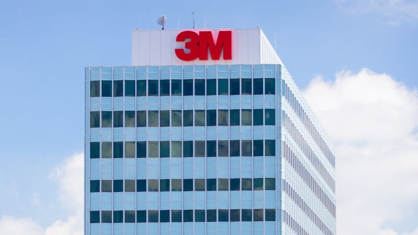 MAPLEWOOD, MN/USA - JUNE 20, 2014: 3M corporate headquarters building.