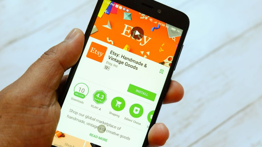 Etsy store app