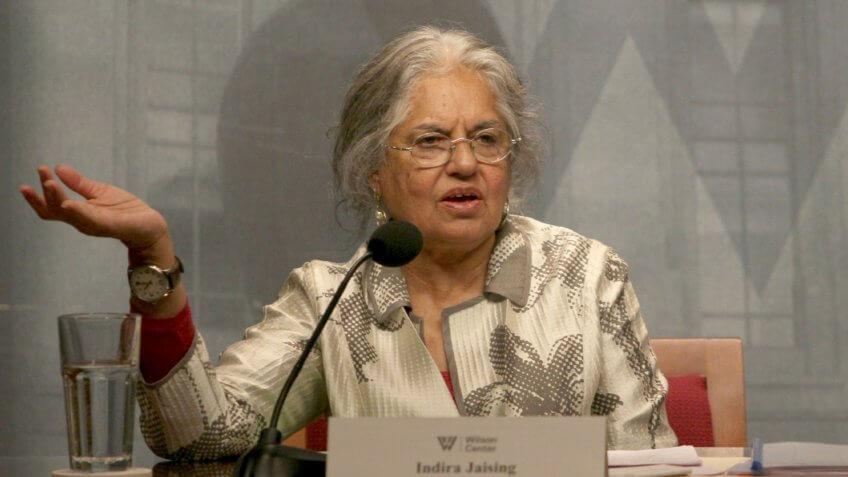 Indira Jaising - The Wilson Center