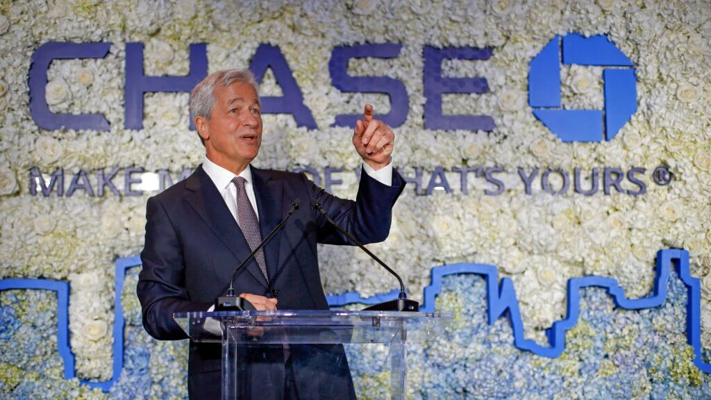 Jamie Dimon JPMorgan Chase