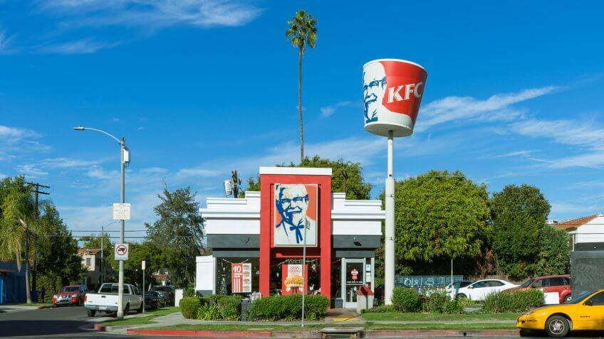 Kentucky Fried Chicken KFC on 3rd Street