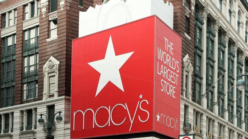 Macy's store in New York City