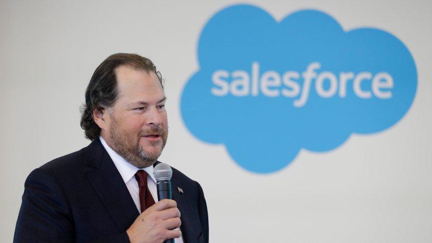 Marc Benioff Salesforce chairman