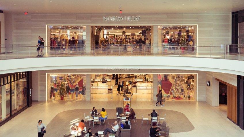 Nordstrom Del Amo mall