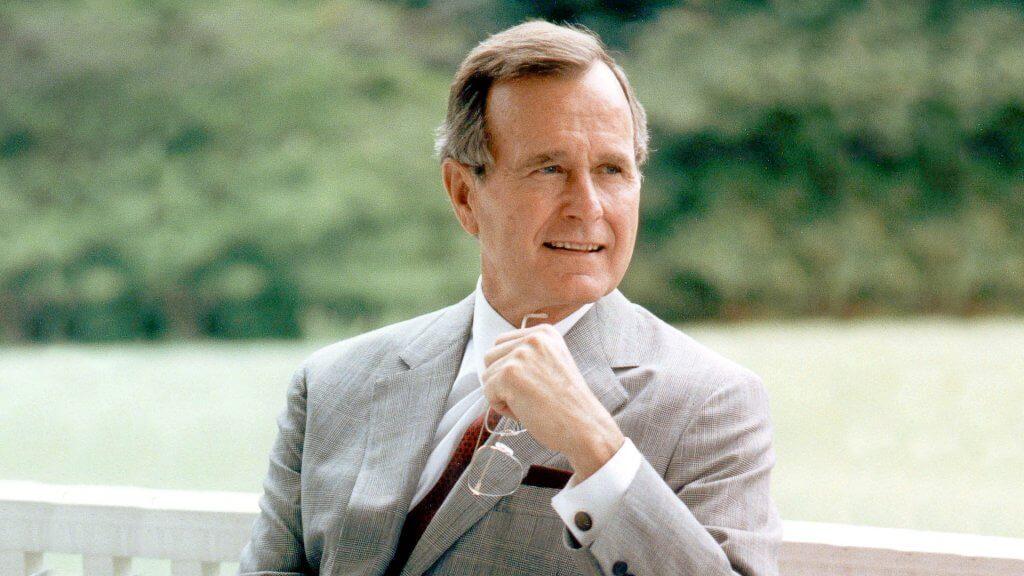 George Bush 41 - Magazine cover