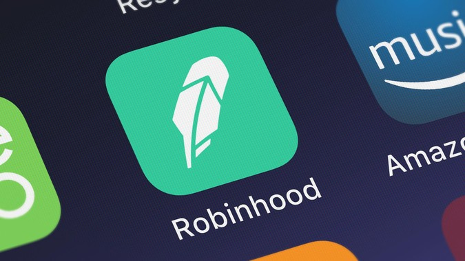 London, United Kingdom - October 05, 2018: Screenshot of Robinhood Markets, Inc.