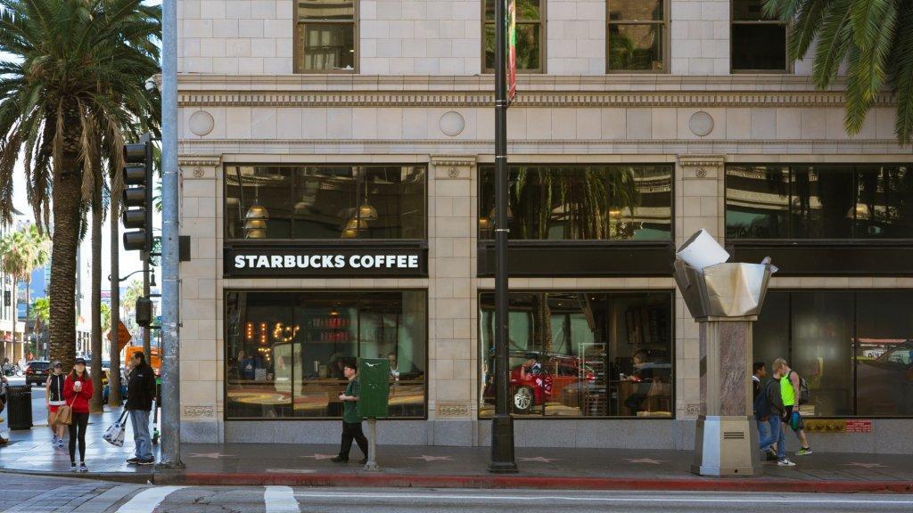 Starbucks on Vine Street