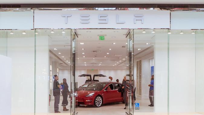 Tesla at Del Amo Fashion Center