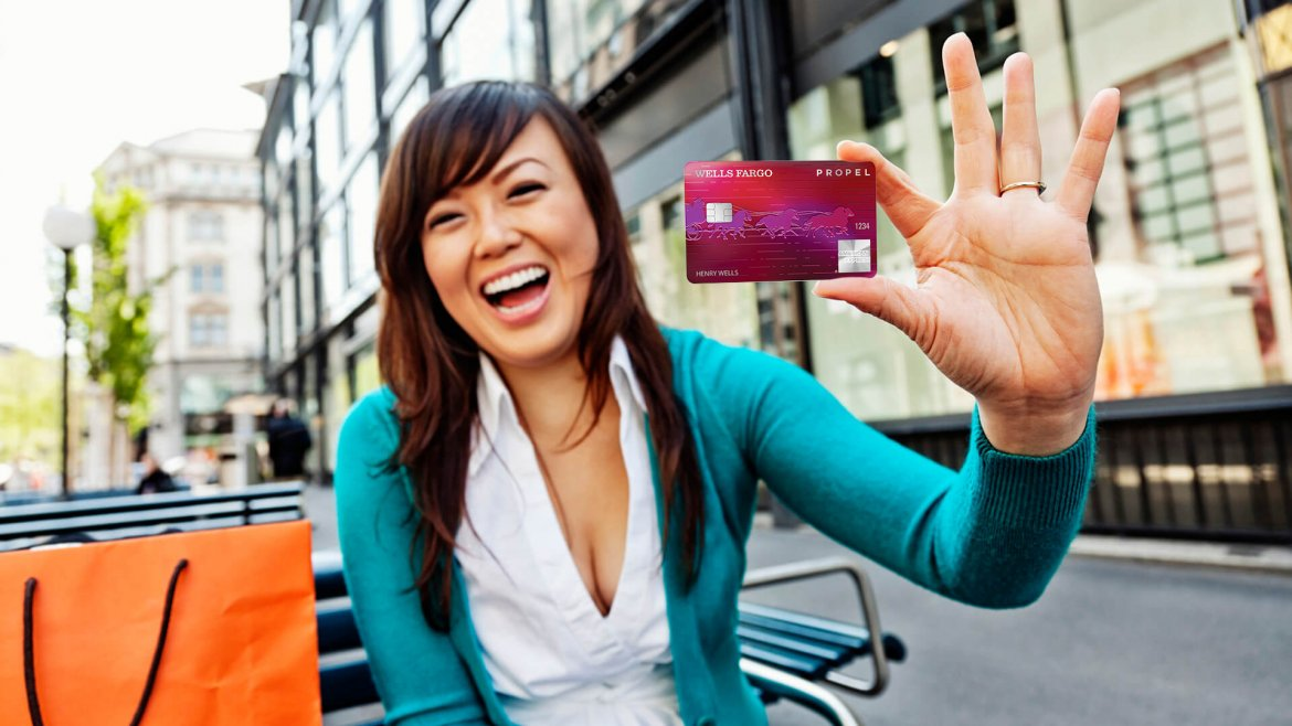 Earn Rewards Points With the Wells Fargo Propel American Express Card