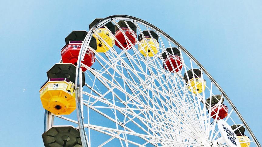 Santa Monica, United States ferris wheel.