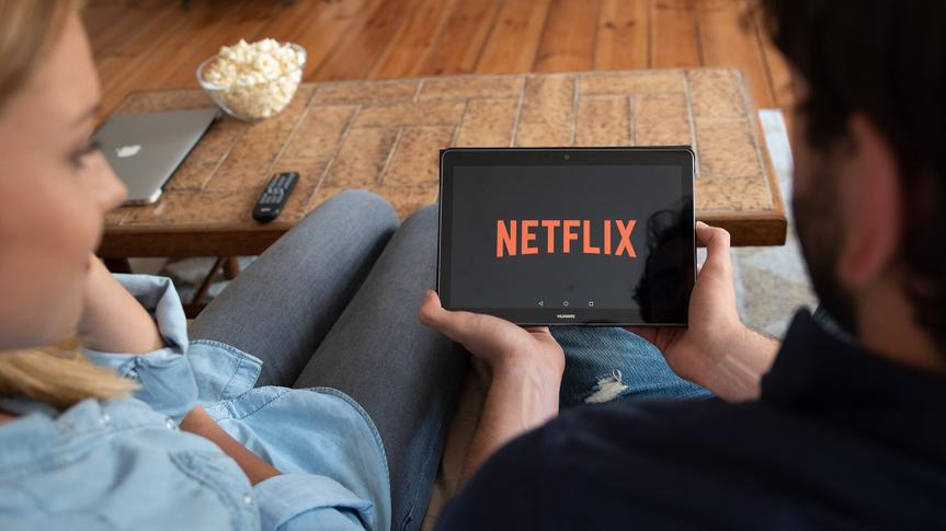 WROCLAW, POLAND - AUG 18, 2018: Netflix is a global provider of streaming movies and TV series.