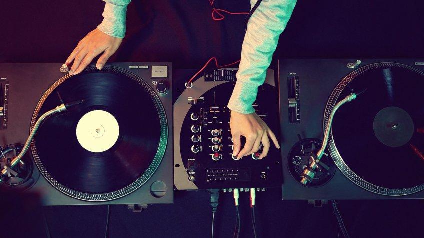 DJ Mixer turn table
