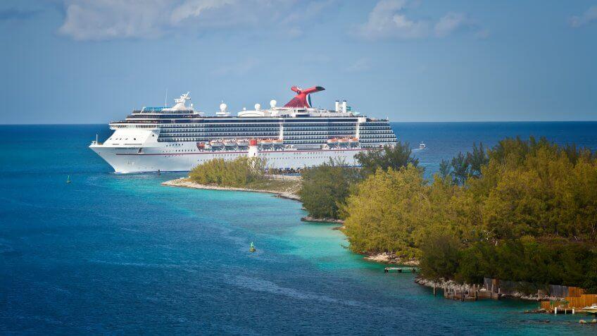 Nassau, Bahamas - Jan.