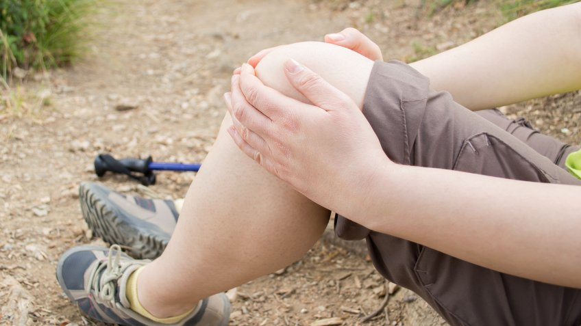 injured knee