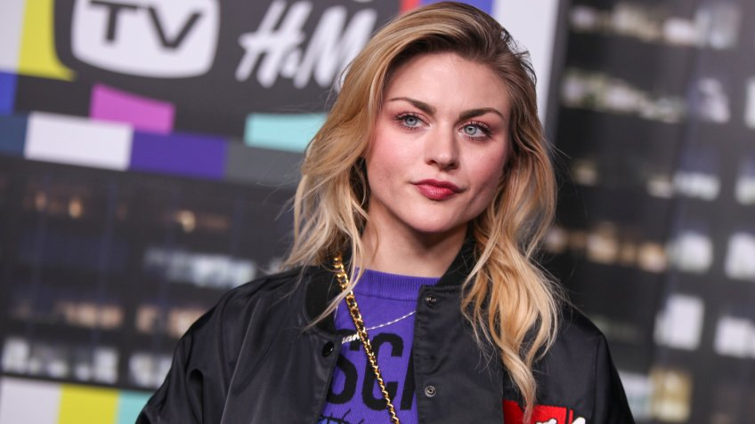 Frances Bean Cobain at H&H red carpet event