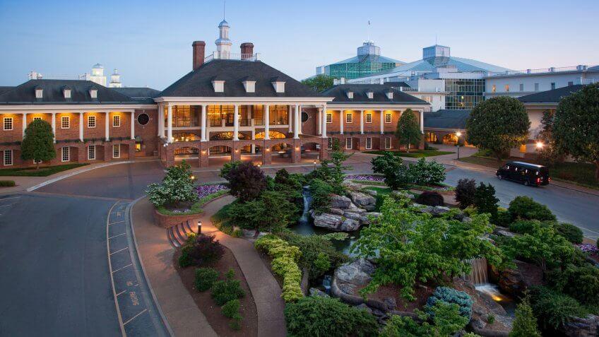 Gaylord Opryland Resort & Convention Center Nashville.