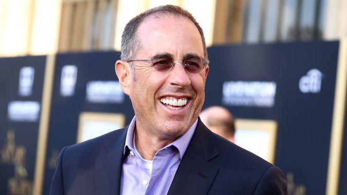 comedian Jerry Seinfeld attends A Star is Born fiml