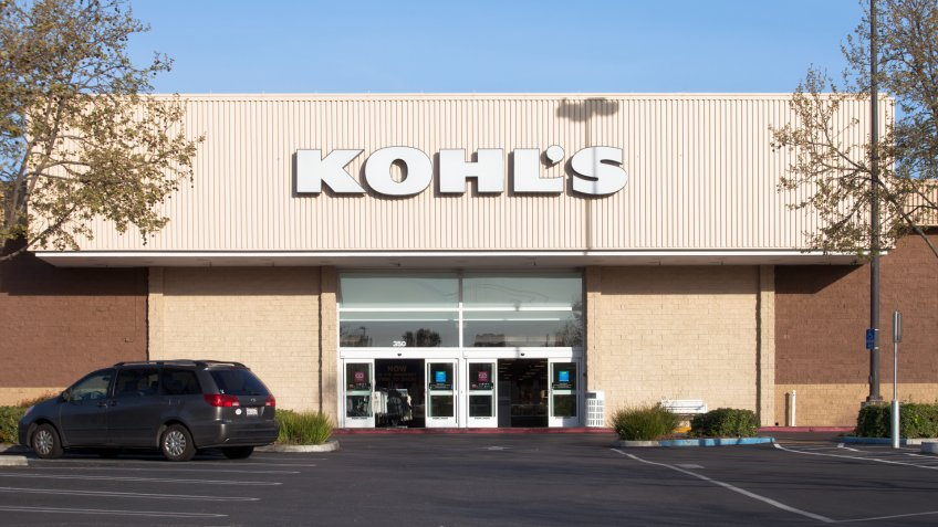 Mountain View, California, USA - March 29, 2011: Exterior of the Kohl's department store located in Mountain View, California.