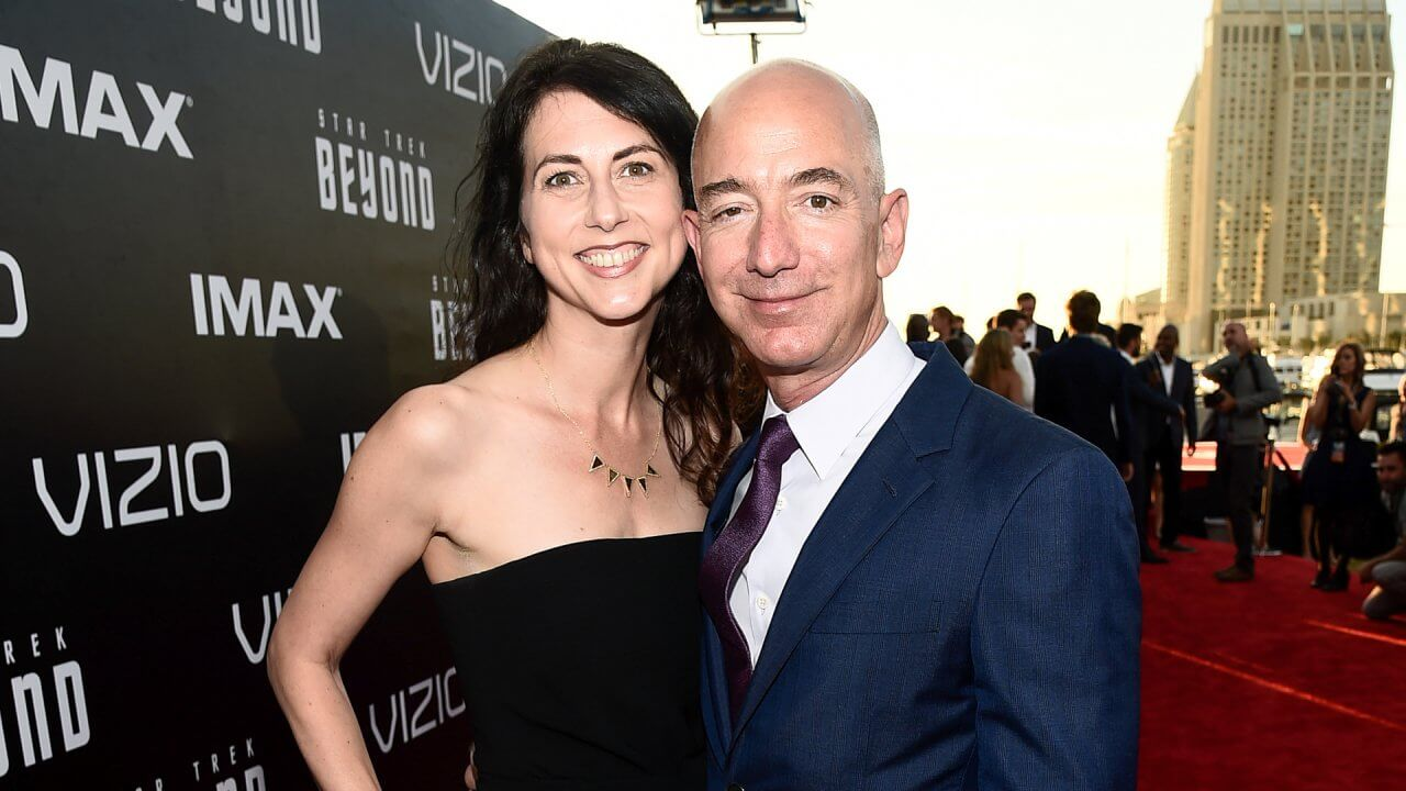 Divorcing Without a Prenup: See What MacKenzie Bezos Is Worth
