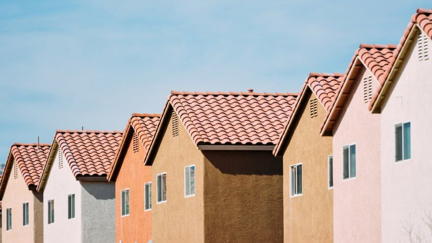 New Homes, Las Vegas, Nevada.