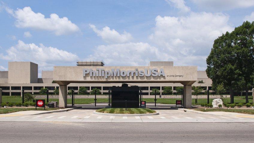 RICHMOND, VA - JUNE 13: The Philip Morris USA headquarters on June 13, 2010 in Richmond, VA. The FDA Tobacco Control Act went into effect June 22, 2010.