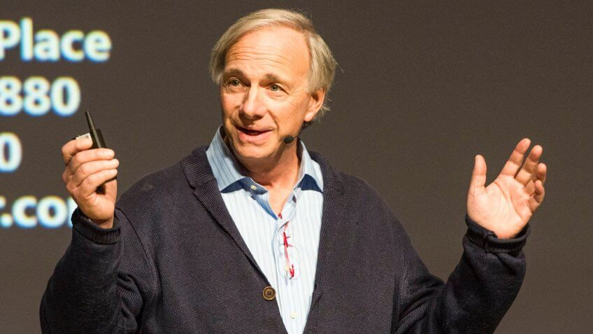 Ray Dalio speaking at Summit LA18 in Los Angeles