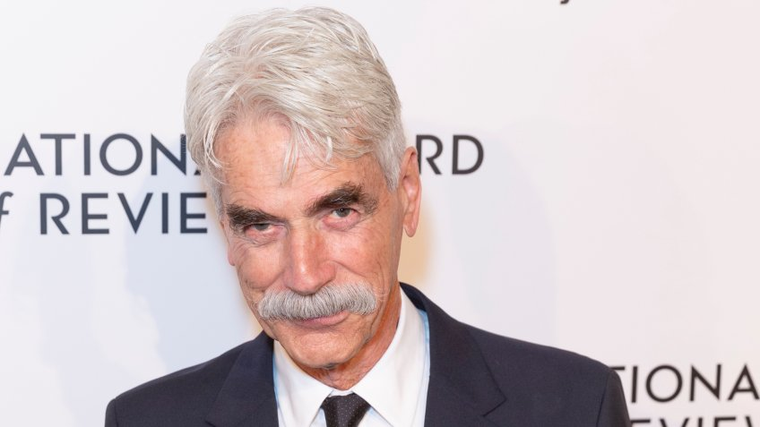 New York, NY - January 8, 2019: Sam Elliott attends National Board of Review 2019 Gala at Cipriani 42nd street - Image.