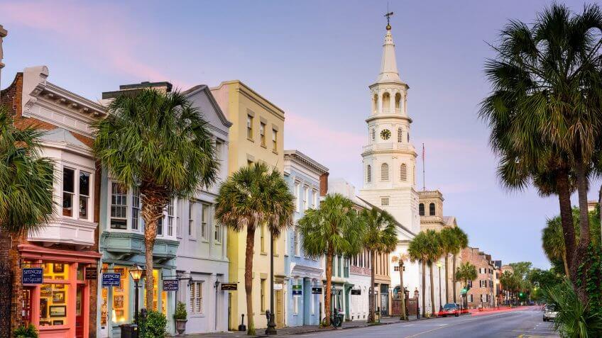 Charleston South Carolina downtown