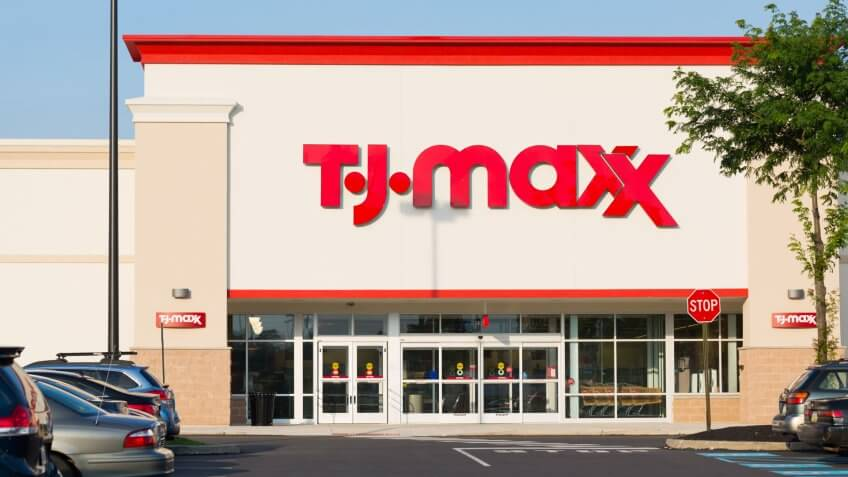 TJ-maxx store, Quakertown, Pennsylvania - July 14, 2017.
