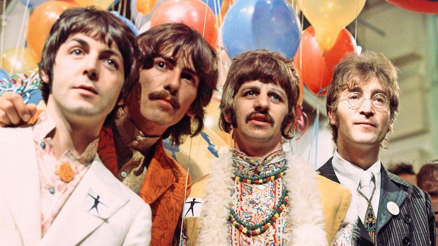 Mandatory Credit: Photo by David Magnus/REX/Shutterstock (20092h)The Beatles - Paul McCartney, George Harrison, Ringo Starr and John LennonVarious - 1967.