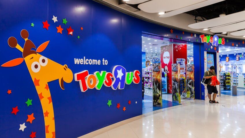 Toys R Us is store