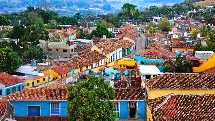 Trinidad Cuba village