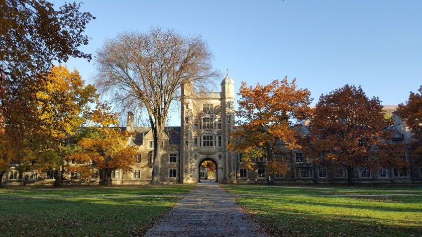 University of Michigan Ann Arbor college campus