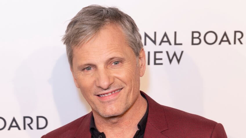 New York, NY - January 8, 2019: Viggo Mortensen attends National Board of Review 2019 Gala at Cipriani 42nd street - Image.