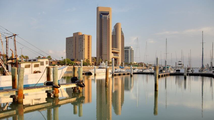 Corpus Christi is a coastal city in the South Texas region of the U.