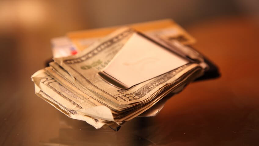 Close-up, Color Image, Currency, Horizontal, Macro, Money Clip, Organization, Paper Currency, Studio Shot, US Currency, monetary