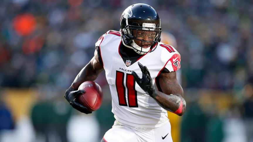 Atlanta Falcons wide receiver Julio Jones net worth