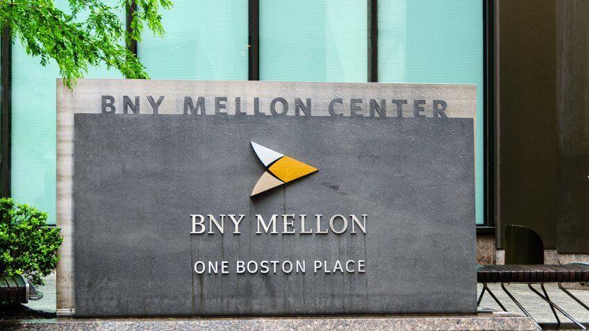 Boston, USA - June 8, 2012: The BNY Mellon Center in downtown Boston, Massachusetts.
