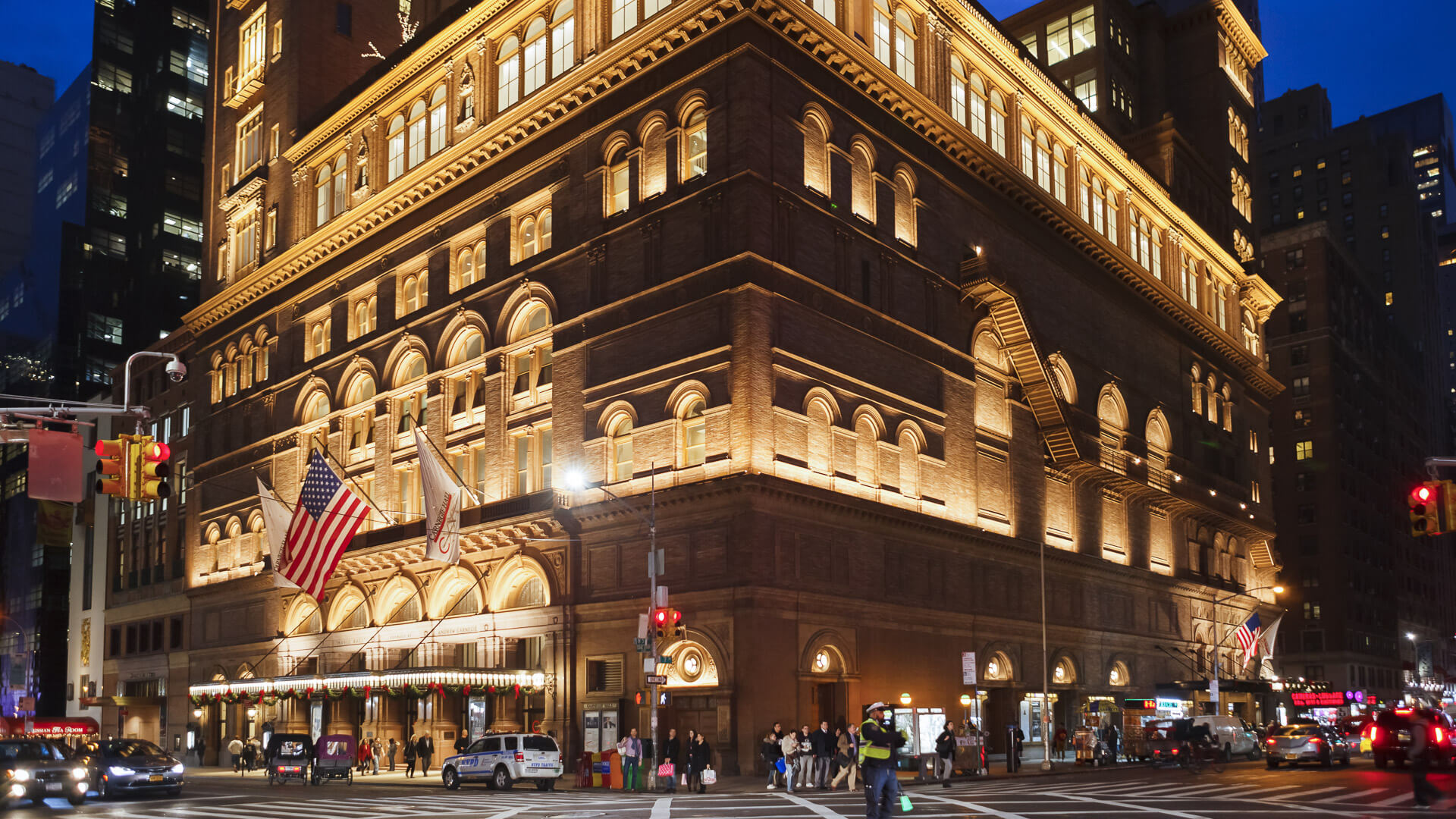 Carnegie Hall in New York City