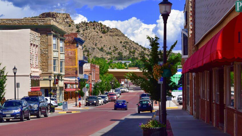 Downtown Trinidad, Colorado