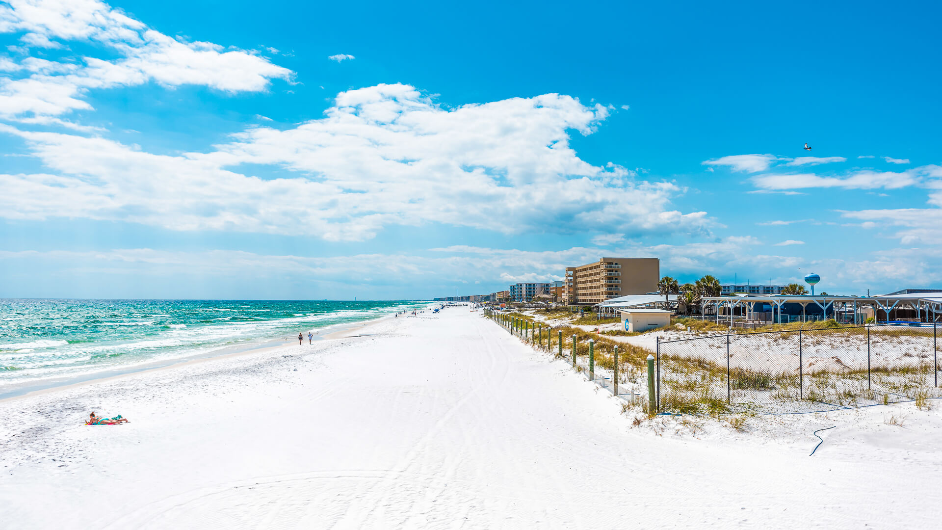 Fort Walton Beach Florida with vacation homes