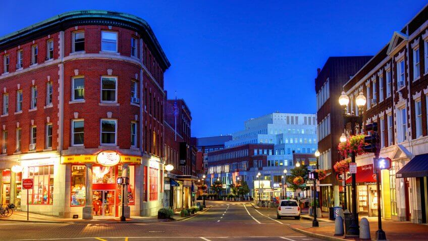 Harvard Square is a triangular plaza at the intersection of Massachusetts Avenue, Brattle Street, and John F.
