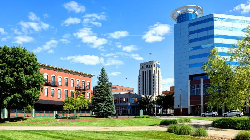 Kalamazoo is a city in the southwest region of Michigan