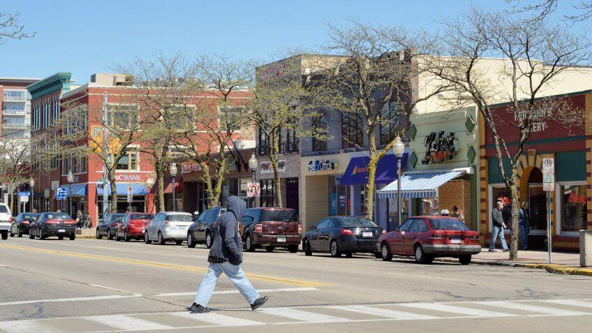 Royal Oak Michigan main street