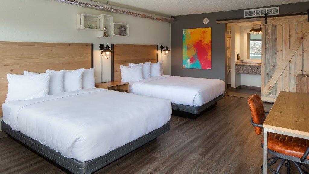 SCP Hotel Double Queen room