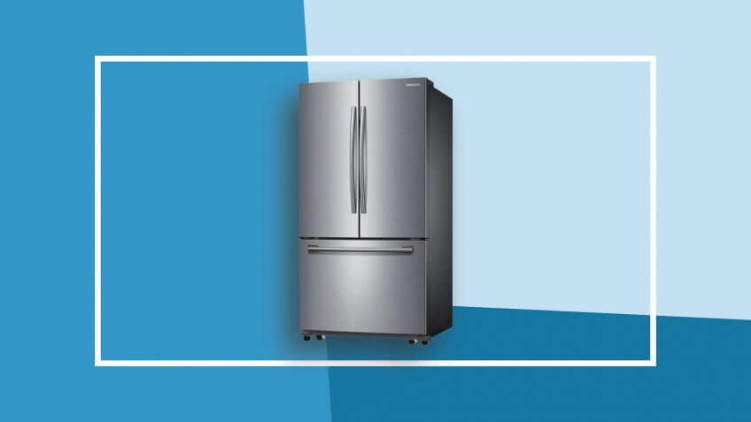 Samsung 25.5-Cubic-Foot French Door Refrigerator With Ice Maker