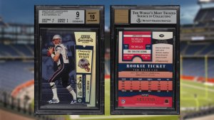 Tom Brady Rookie Card Sold for Record Price on eBay