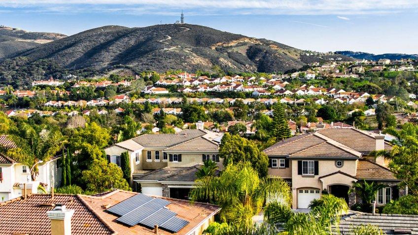 aerial view of San Marcos California